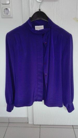 jetzt reduziert: tolle vintage bluse wie seide bügelfrei