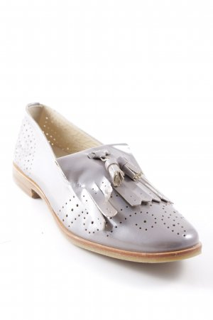 JHAY Patent Leather Ballerinas mauve leather-look