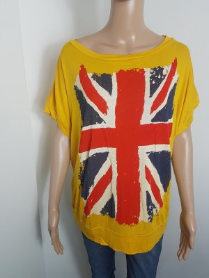 Jida Paris Maxishirt Tunikashirt oversized mit Druck Größe 36 / 38 NEU