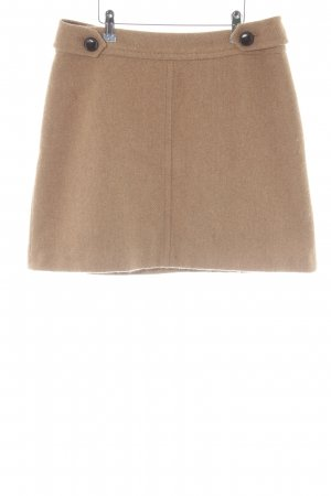 JIGSAW Wool Skirt beige-cream herringbone pattern elegant