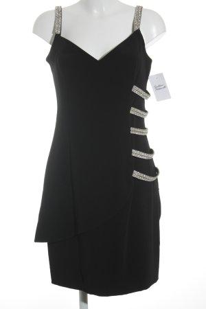 JIKI Etuikleid schwarz-silberfarben Elegant