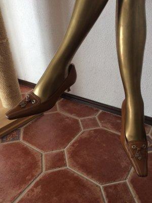 Jil Rocco, Vero Cuoio Pumps in braunem Leder