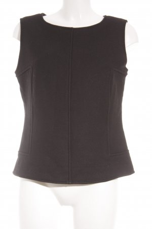 Jil Sander A-Linien Top schwarz Business-Look