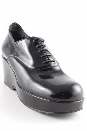 Jil Sander Absatz Sneaker schwarz Casual-Look