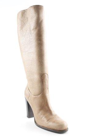 Jil Sander Absatz Stiefel camel schlichter Stil