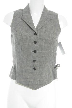 Jil Sander Waistcoat grey striped pattern business style