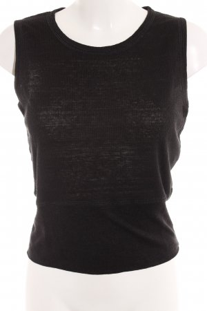 Jil Sander Top básico negro look casual