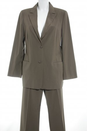 Jil Sander Business-Anzug ocker Nadelstreifen Business-Look