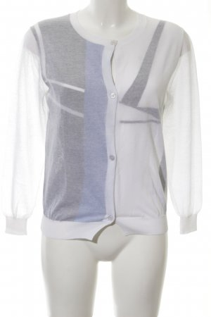 Jil Sander Cardigan grafisches Muster College-Look