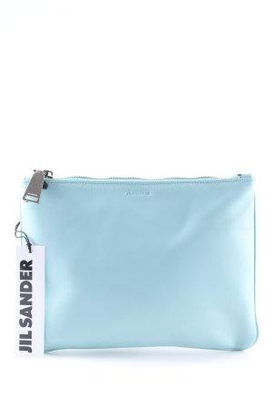 Jil Sander Clutch baby blue simple style