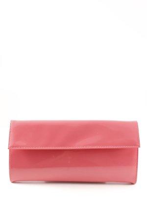 Jil Sander Clutch pink leather-look