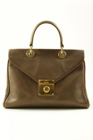Jil Sander Handbag olive green-gold-colored elegant