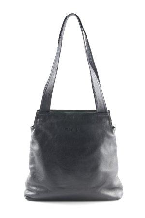 Jil Sander Handtasche schwarz schlichter Stil