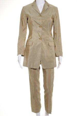 Jil Sander Trouser Suit gold-colored-beige business style