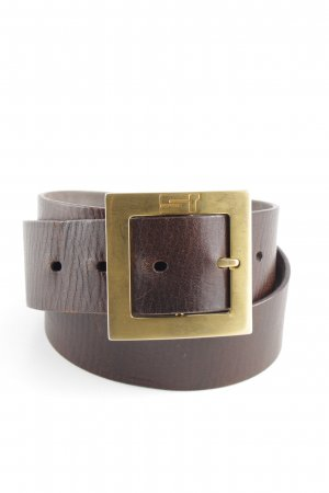 Jil Sander Hip Belt brown-gold-colored casual look