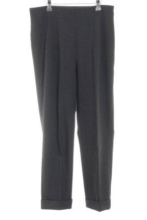 Jil Sander Pantalón de pinza alto gris antracita estilo «business»