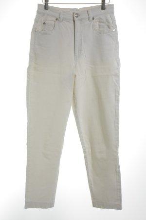 Jil Sander Jeans carotte blanc cassé style des années 90
