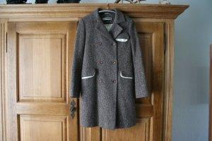Jil Sander Cappotto in lana multicolore Cachemire