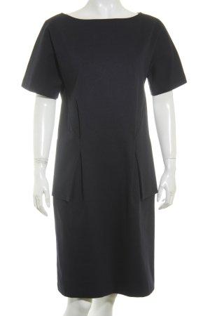 Jil Sander Kleid dunkelblau klassischer Stil