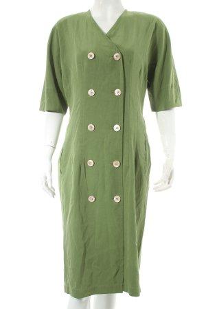Jil Sander Kurzarmkleid grün schlichter Stil