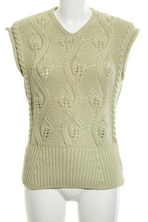 Jil Sander Short Sleeve Sweater pale green '90s style