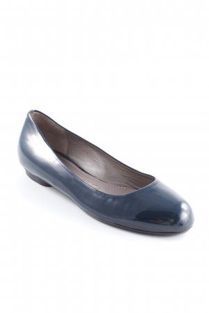 Jil Sander Patent Leather Ballerinas petrol casual look