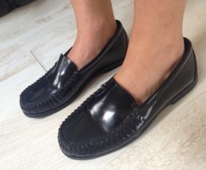 Jil Sander Slippers black leather