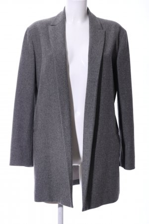 Jil Sander Long-Blazer hellgrau meliert Business-Look