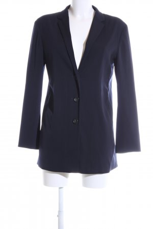 Jil Sander Long-Blazer blau Business-Look
