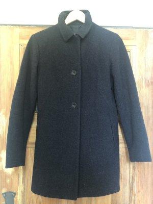 Jil Sander Abrigo de lana gris antracita-gris oscuro lana de esquila