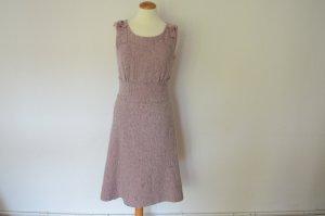 Jil Sander Vestido ceñido de tubo rosa empolvado lana de esquila