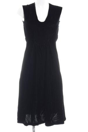 Jil Sander Midikleid schwarz minimalistischer Stil