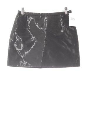 Jil Sander Mini rok zwart extravagante stijl