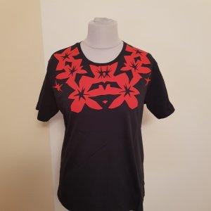 Jil Sander Navy T Shirt Gr. XL=42  Dunkelblau Rot Ungetragen ohne Etikett