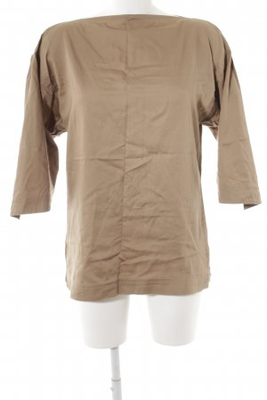 Jil Sander Oversized blouse lichtbruin casual uitstraling
