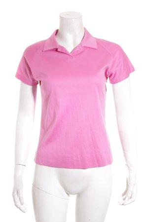 Jil Sander Polo-Shirt pink sportlicher Stil