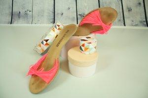 Jil Sander Sandalette Sandale Pink Blogger Neon Gr 40,5