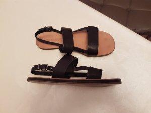 jil sander  schwarz sandalen