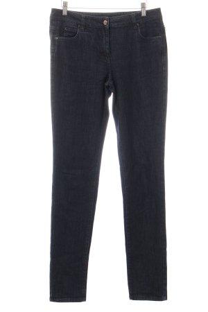 Jil Sander Skinny Jeans dunkelblau Casual-Look