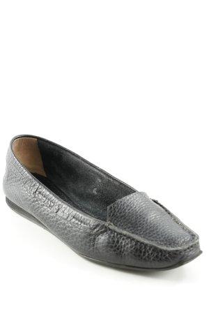 Jil Sander Zapatos formales sin cordones negro estampado de animales look casual