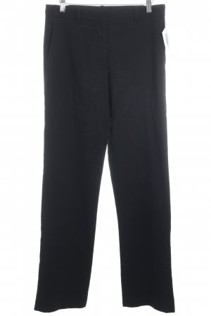 Jil Sander Stoffhose schwarz Business-Look