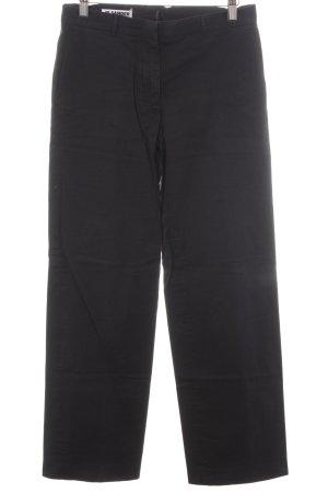 Jil Sander Pantalón tipo suéter negro estilo «business»