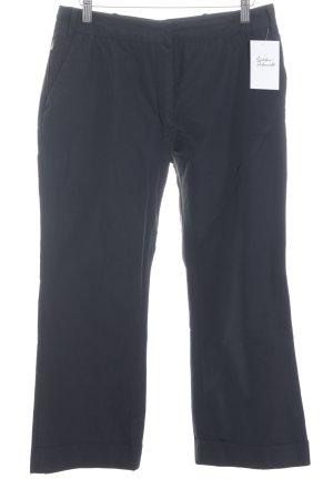 Jil Sander Pantalón tipo suéter negro estilo deportivo