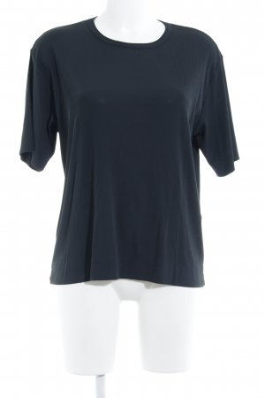 Jil Sander T-Shirt anthrazit Casual-Look