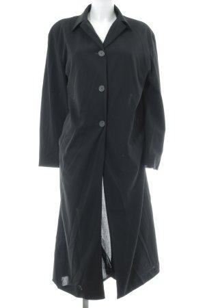 Jil Sander Übergangsmantel schwarz schlichter Stil