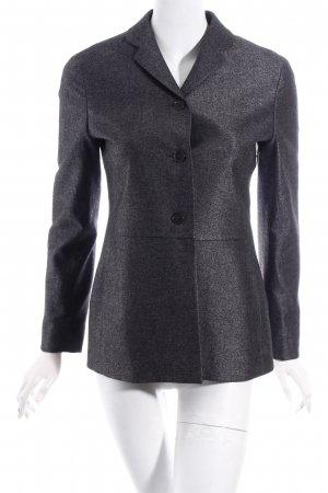 Jil Sander Woll-Blazer anthrazit meliert Business-Look
