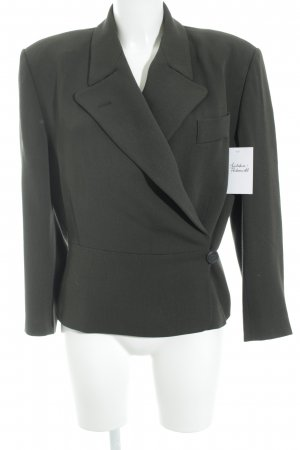 Jil Sander Wool Blazer green grey business style