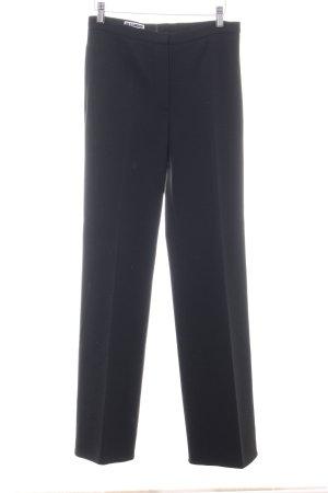 Jil Sander Wollen broek zwart zakelijke stijl