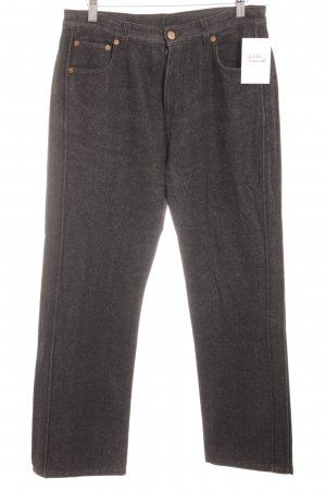 Jil Sander Woolen Trousers dark grey casual look