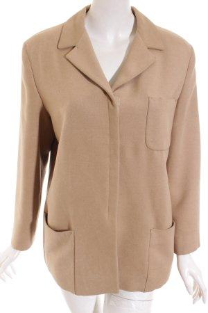 Jil Sander Giacca di lana color cammello stile minimalista